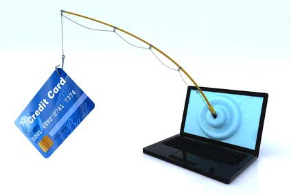 Phishing attack illustration