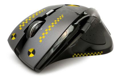 Mouse Crash Test - illustration