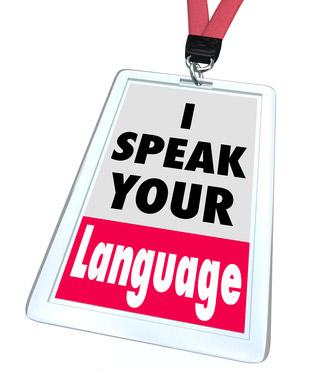 I speak your language - illustration