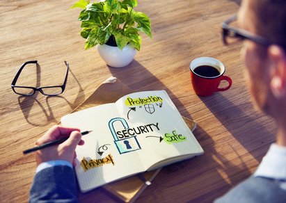 Considering security - illustration