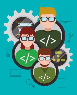 Nous recrutons un hacker / developer - illustration