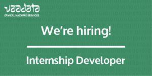 We're hiring developer