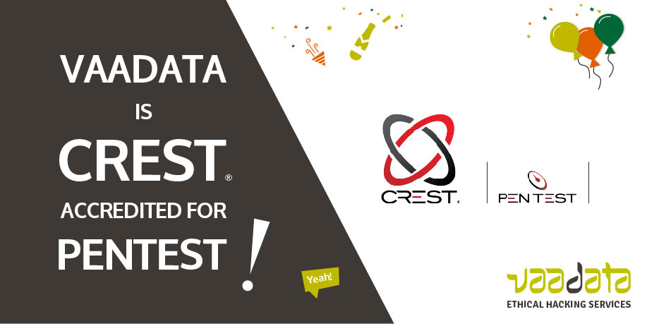 Vaadata devient la première entreprise de pentest française certifée CREST