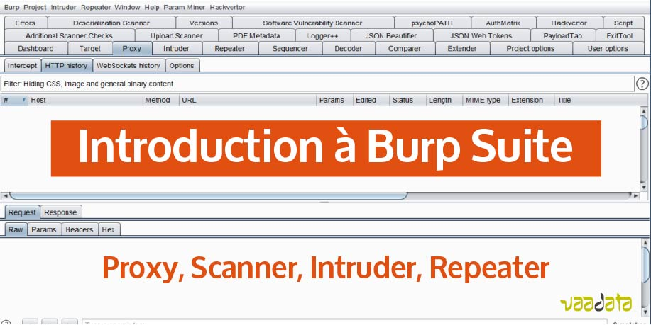 Introduction à Burp Suite - Proxy, Scanner, Intruder et Repeater