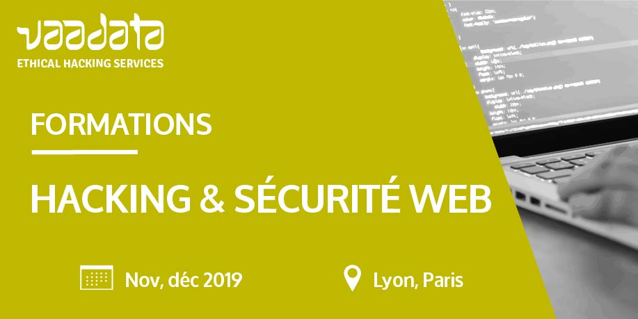 Formations Hacking & securité web
