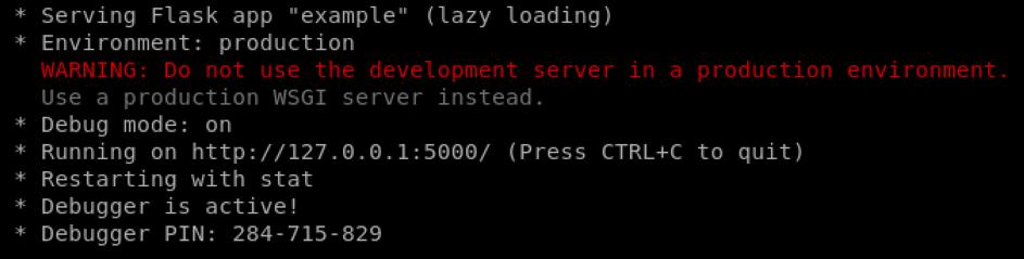 Vulnerable test server