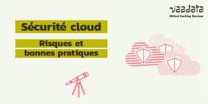 sécurité cloud risques bonnes pratiques